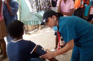 Haiti clinica salud 2010